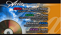 Avia video calibration dvd