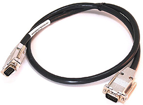 VGA analog cable connector