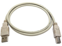 "USB 2.0 Cable, with standard ""A"" to ""B"" connectors for connecting printers and other peripherals"