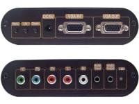 Component Video to VGA Video Converter With OSD