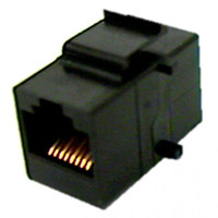 CAT 5e RJ45 Feed-Thru Keystone Insert