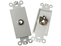 "Calrad 28-117-P 1/4"" Stereo Phone jack wall plate"