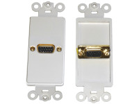 VGA Feed-thru Wall Plate Calrad 28-161G