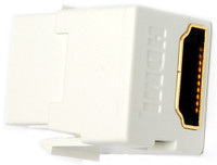 HDMI Keystone jack, low profile
