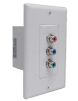 Component Video Combination Wall Plate Balun Kit