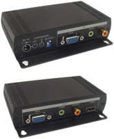 VGA to HDMI Converter with Loop Outputs. Calrad 40-40VH01-SYL