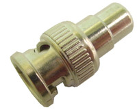 RCA female to BNC Male Adapter, 50 ohm