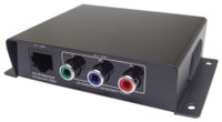 Component Video over Cat5 Balun, single end, with RCA connectors. Calrad 95-1044-RCA