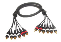 5.1 multichannel audio cable