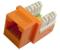 90 Degree Cat6 Keystone Jack, RJ45
