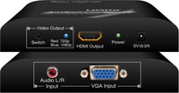 Key Digital KD-VCS500 VGA to HDMI converter and Scaler, 720p and 1080p