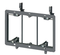 PVC Low Voltage Mounting Brackets- Triple gang