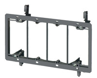 PVC Low Voltage Mounting Brackets- Four gang