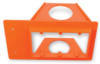Box Buddy Low Voltage Mounting Brackets - new construction, Triple gang 2 inch Conduit Opening