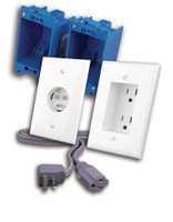 Rapid Link Power™ by Vanco,  In-Wall Power Solution for Wall Mounted HDTV