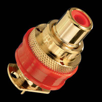 WBT-0201  Gold Plated RCA Socket