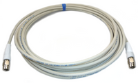 Belden 1695A Plenum Rated RG6U cables with Canare F connectors