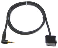 iPro2 30-pin Apple Docking to Right Angle Stereo Mini Plug Cable