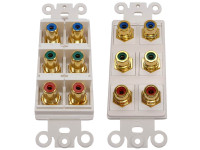 Dual Component Video Wall Plate