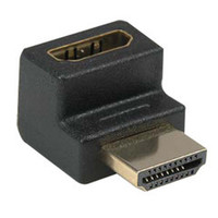 HDMI Right Angle Adapter, HDMI Male to HDMI Female, 90 Degree