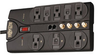 Tripp Lite AV810 8-Outlet, 10-ft cord, 3240 joule, Audio Video Surge Suppressor