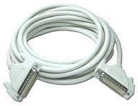 DB25 Male to DB25 Male RS232 Serial Cable