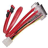 2 SATA DATA and Power Cable