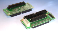 SCA SCSI Adapter, SCA80 Female to IDC50 Male and HD68 Female
