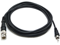 BNC to RCA Cable, Male to Male, RG174