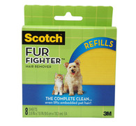 3M- Fur Fighter, Hair Removal for Upholstery (Refill)