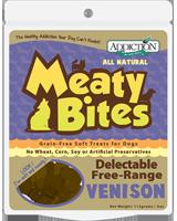 Addiction Venison Meaty Bites Dog Treats