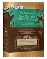 Addiction NZ Forest Delicacies Raw Dehydrated Dog Food
