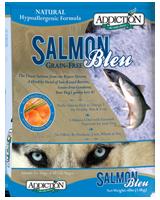 Addiction Salmon Bleu Dog Kibbles (Grain-Free)