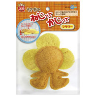 Marukan Flower Shape Loofah Toy