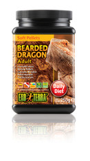 Exoterra Adult Bearded Dragon Food Sift Pellets 250g
