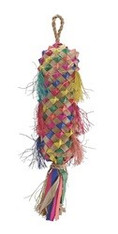 Living World Nature's Treasure Bird Toy Colorful Buri Lantern, For small hookbills