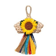 Living World Nature's Treasure Angel with Flower, For extra-small, small, medium hookbills