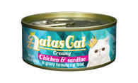 Aatas Cat Chicken & Sardine in Gravy