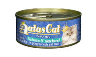 Aatas Cat Salmon & Mackerel in Gravy