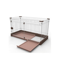 Marukan Easy Cleaning Dog Circle Brown Large