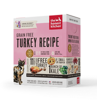 The Honest Kitchen - Dehydrated Grain Free Turkey Recipe (Grace)