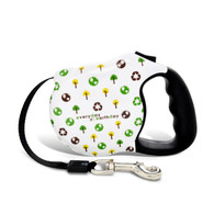 Avant Garde retractable leash, Greenday