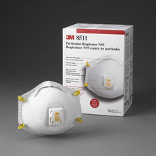 8511 N95 Respirator-Case of 80
