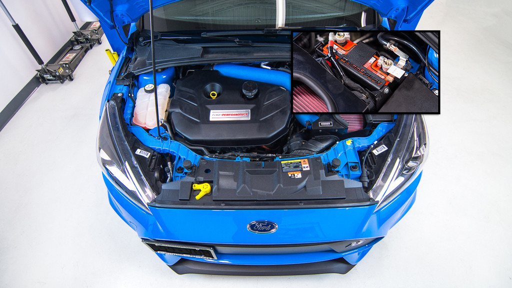 GrimmSpeed Lightweight Battery Mount Kit - 2013+ Ford Focus ST, 2016+ Focus RS