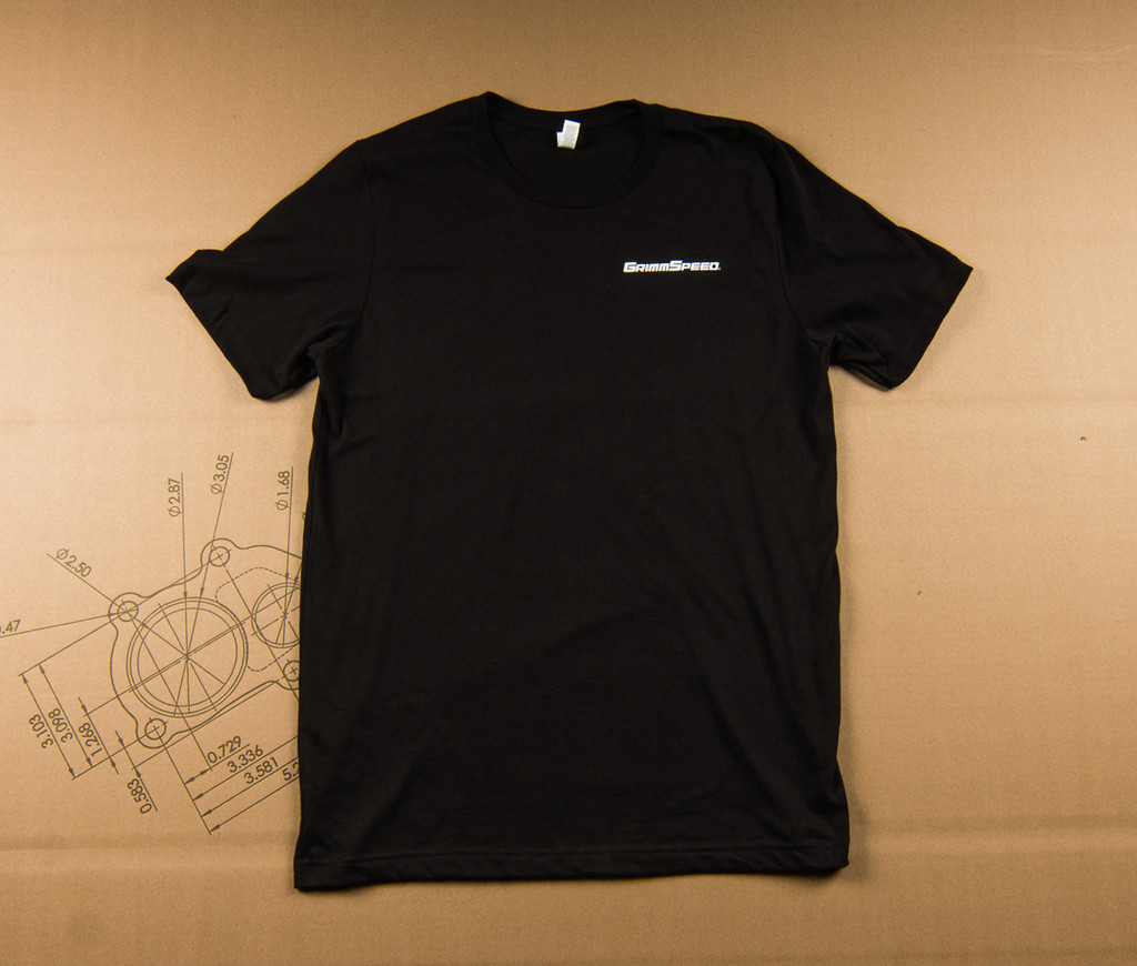 """GrimmSpeed MFG """"Hand-Made"""" T-Shirt Fitted - Black"""