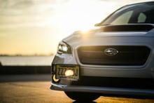 License Plate Relocation Kit - 2015+ Subaru WRX/STI, 2012-16 Impreza/Crosstrek