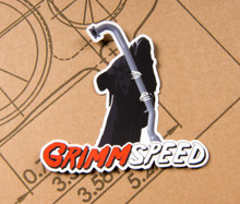 GrimmSpeed GrimmReaper Sticker - 5 inch