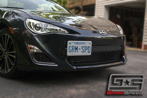 GrimmSpeed Scion FR-S License Plate Relocation Kit