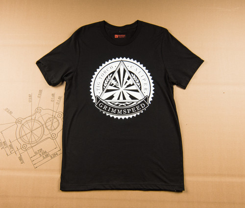 GrimmSpeed Torch and Caliper Society T-Shirt - Black