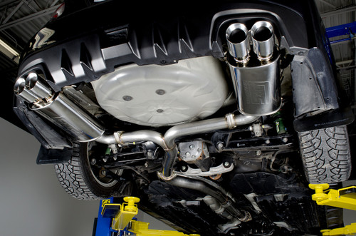 Catback Exhaust System - Resonated - 15-18 WRX/STI, 11-14 WRX/STI Sedan